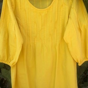 Bright and breezy tunic